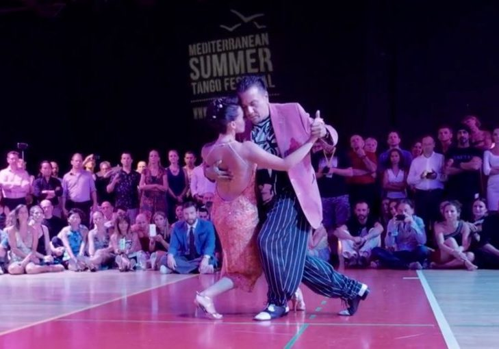 chicho frumboli y juana sepulveda in bucharest romania tango hobby